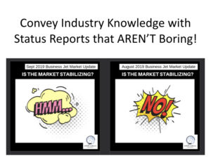 """Aviation promo videos -""""state of hte industry"""" report"""