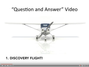 """Aviation promo videos - the """"question and answer"""" video"""