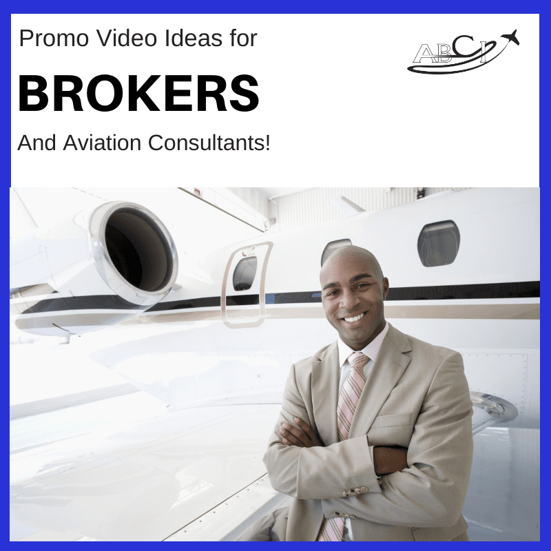 Marketing for brokers and consultants - Three ideas for promo videos