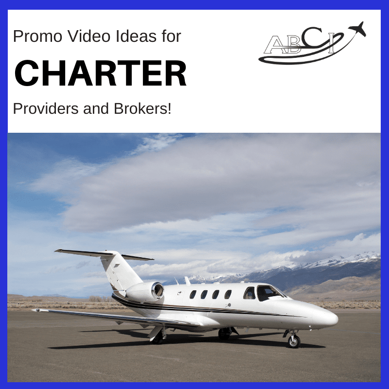 Promo Videos for Air Charter Marketing