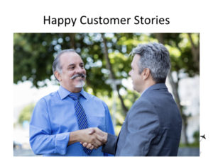 Promo videos for charter marketing - happy customer stories.