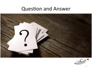 Marketing for Brokers and aviation consultants - question and answer format