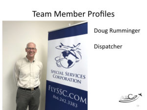 Marketing for Brokers and aviation consultants - team member profiles