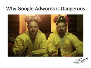 The Dangers of Google Adwords for Aviation Companies