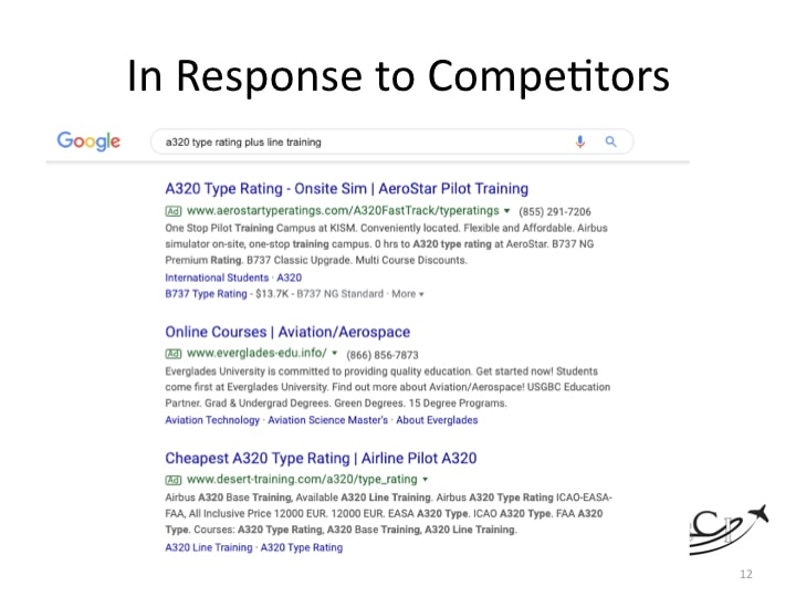 Use Google Adwords to Counter a Competitor