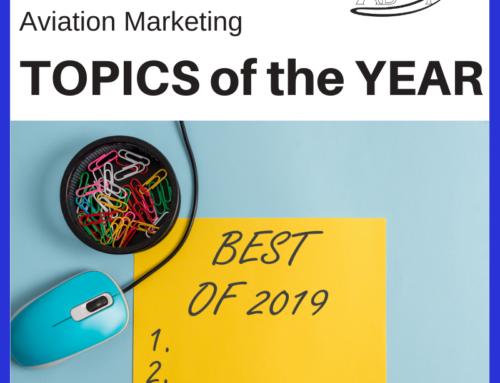 Top Aviation Marketing Topics of 2019