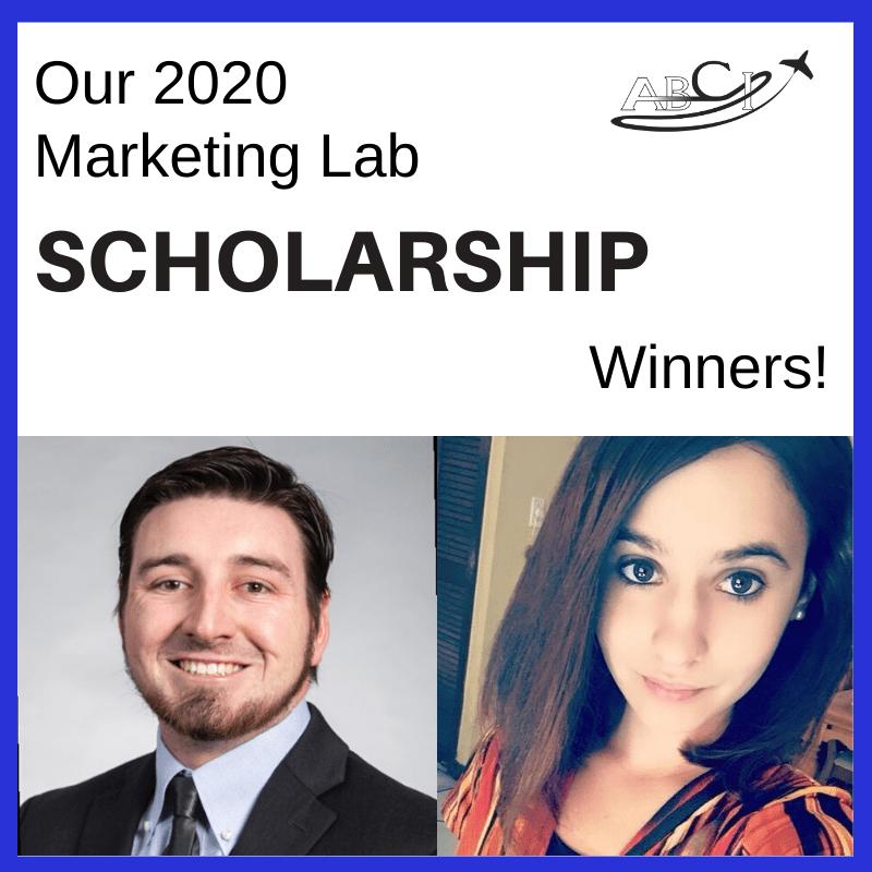 Aviation Sales & Marketing Lab Scholarship Winners