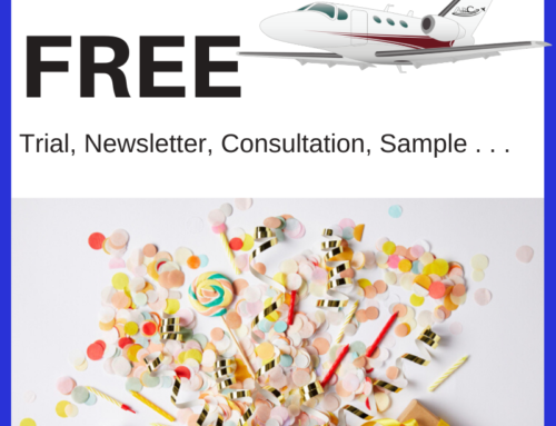 Aviation Marketing Problems – Nobody Wants My Freebie!