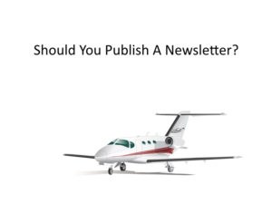 Should you publish a printed newsletter?