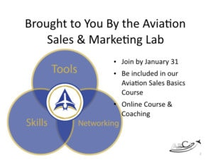 This episode brought to you by the Aviation Sales & Marketing Lab