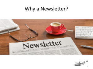 Why publish a printed newsletter?