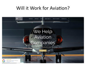 Will a printed newsletter work for an aviation company?