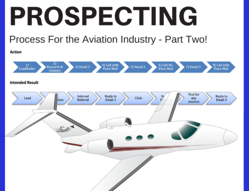 Aviation Marketing Prospecting Campaign – Part Two – The How-To-Guide