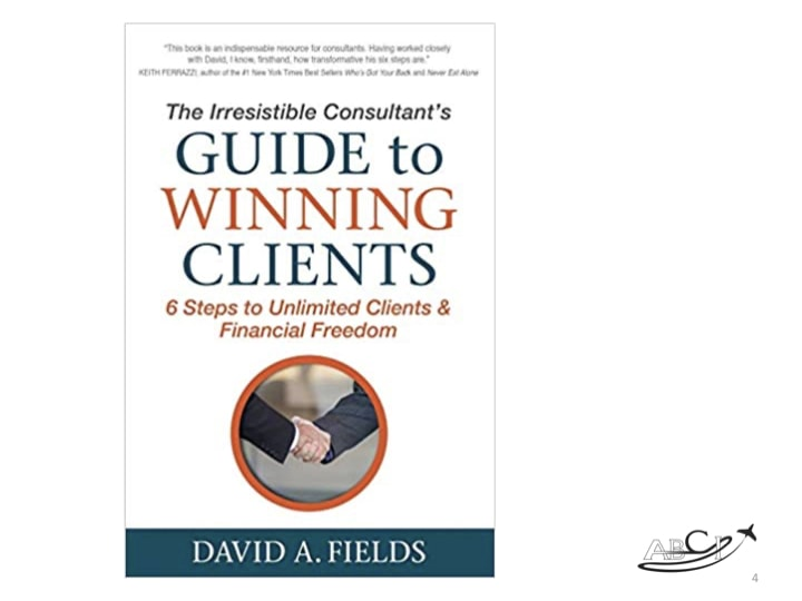 Marketing For Aviation Consultants Book Club Discussion The Irresistible Consultant S Guide To Winning Clients Aviation Business Consultants
