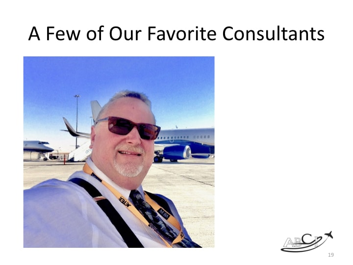 Marketing for aviation consultants - Jet Values Jeremy