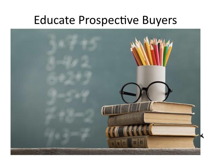 Aviation Web Sites - Educate Prospective Buyers