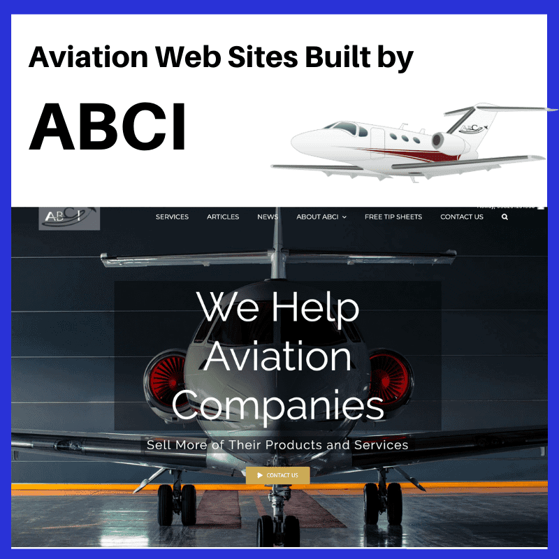 Ten Aviation Websites Built by ABCI