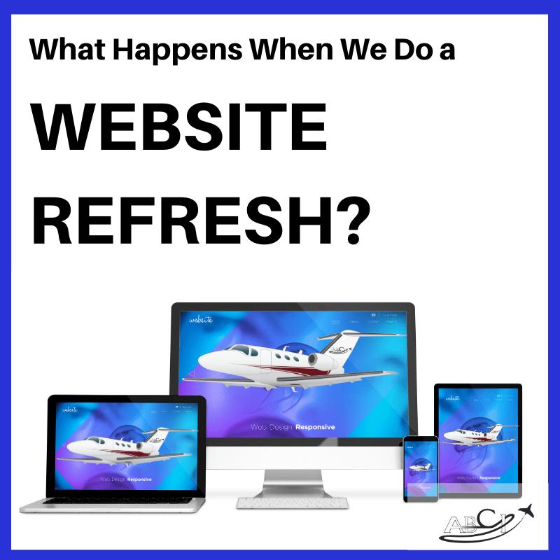 Aviation Web Site Refresh
