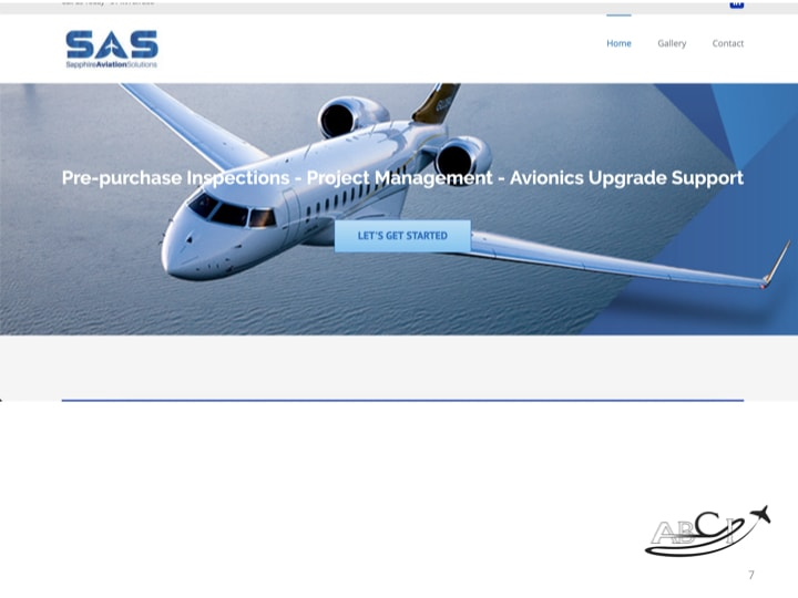 Aviation Websites - Sapphire Aviation Solutions