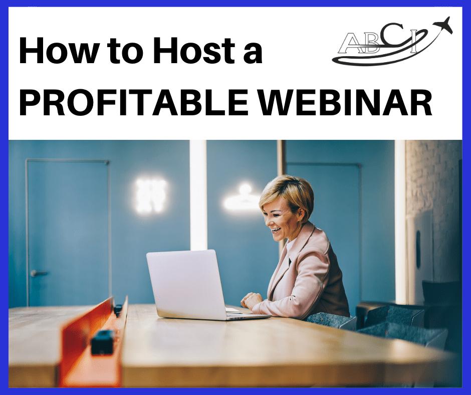 How to Host a Profitable Aviation Webinar