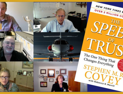 Book Club Discussion – The Speed of Trust by Stephen M. R. Covey