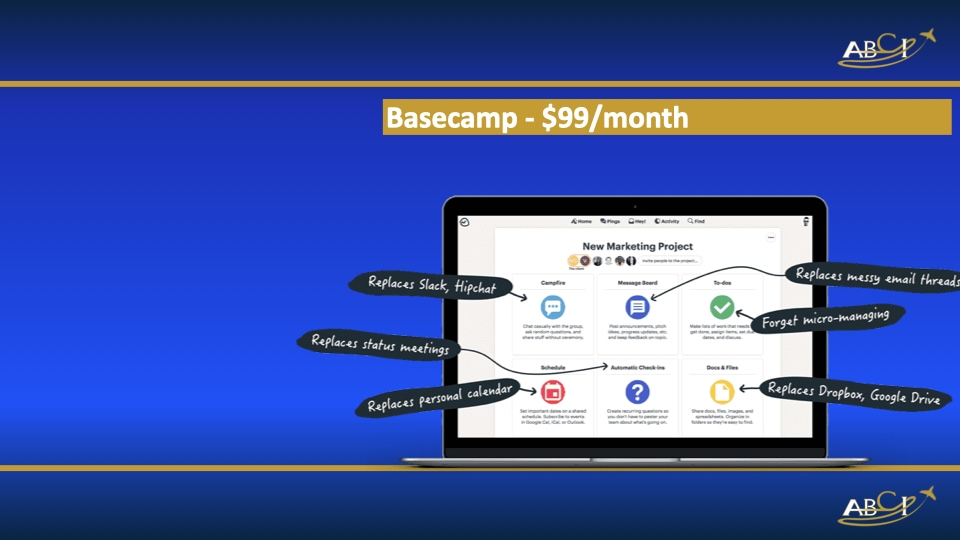 Favorite marketing tools - Basecamp for project managment