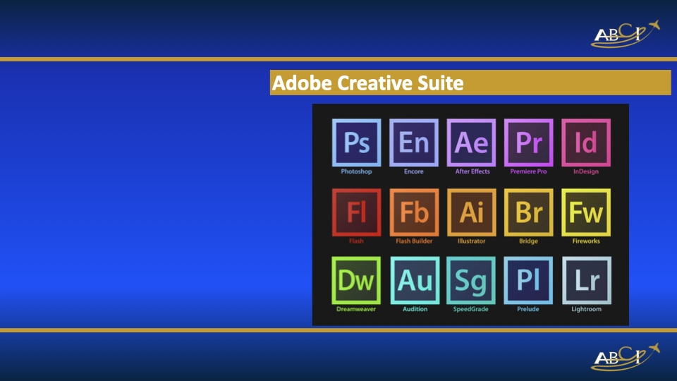 Favorite Aviation Marketing Tool - Adobe Suite