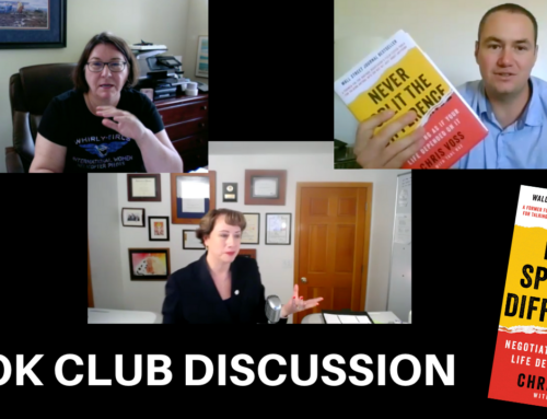 Book Club Discussion – Never Split the Difference