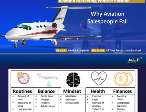 Three Reasons Aviation Salespeople Fail and What To Do About It
