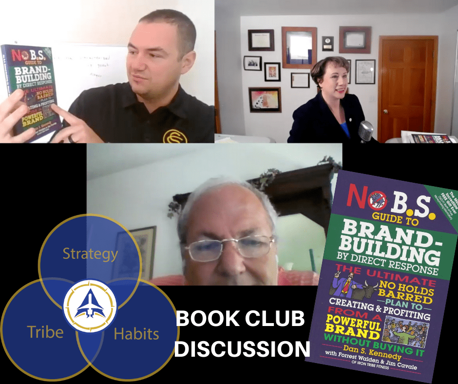 Book Club Discussion - Brand Building By Direct Response