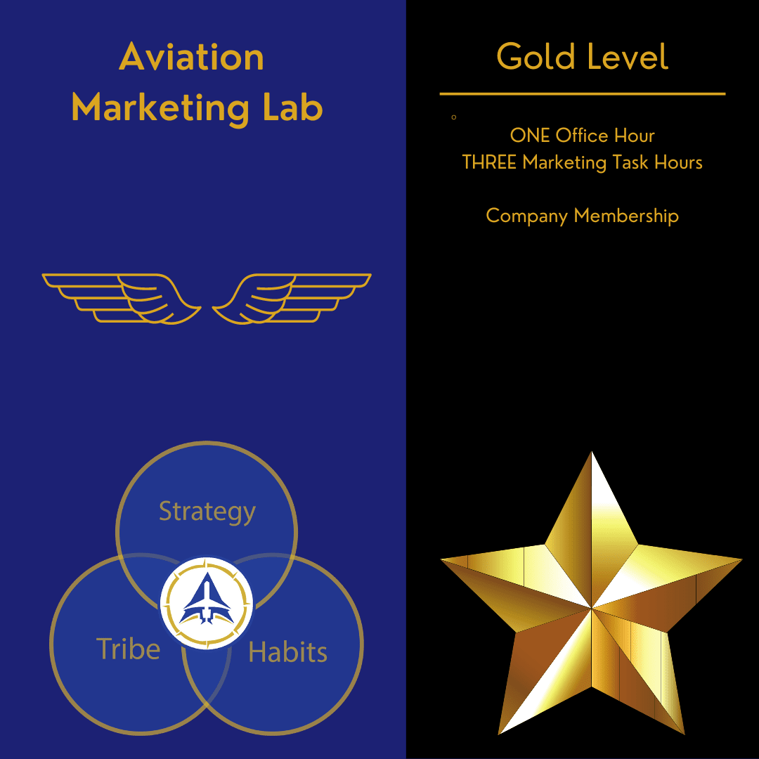 aviation marketing gold level