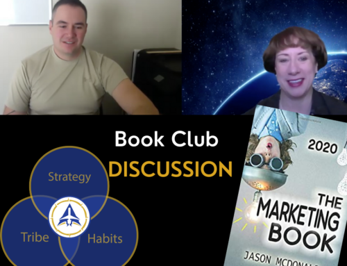 Book Club Discussion – The Marketing Book by Jason McDonald