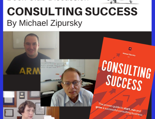 Book Club Discussion – Consulting – How to Get Booked by Michael Zipursky