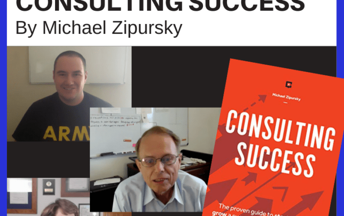Book Club Discussion- Consulting Success by Michael Zipursky