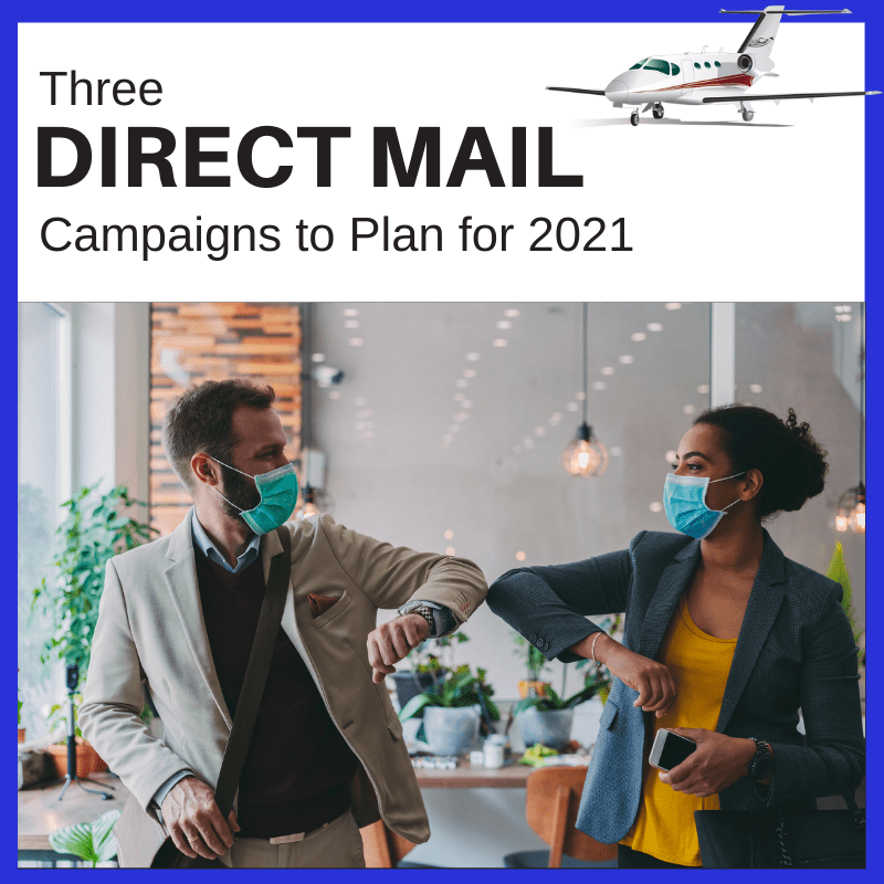 Three Aviation Direct Mail Campaigns for 2021