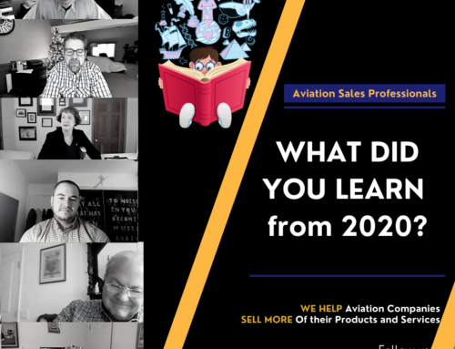 Aviation Sales & Marketing Pros – What Did You Learn from 2020?