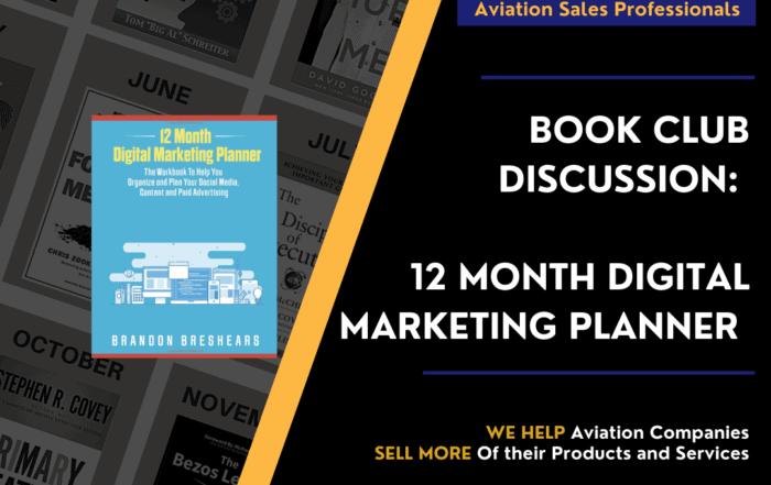 12 Month Digital Marketing Planner by Brandon Breshears