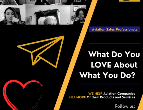 Aviation Professionals – What Do You Love About What You Do?