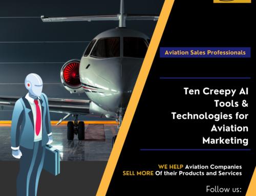 Ten Creepy AI Tools for Aviation Marketing