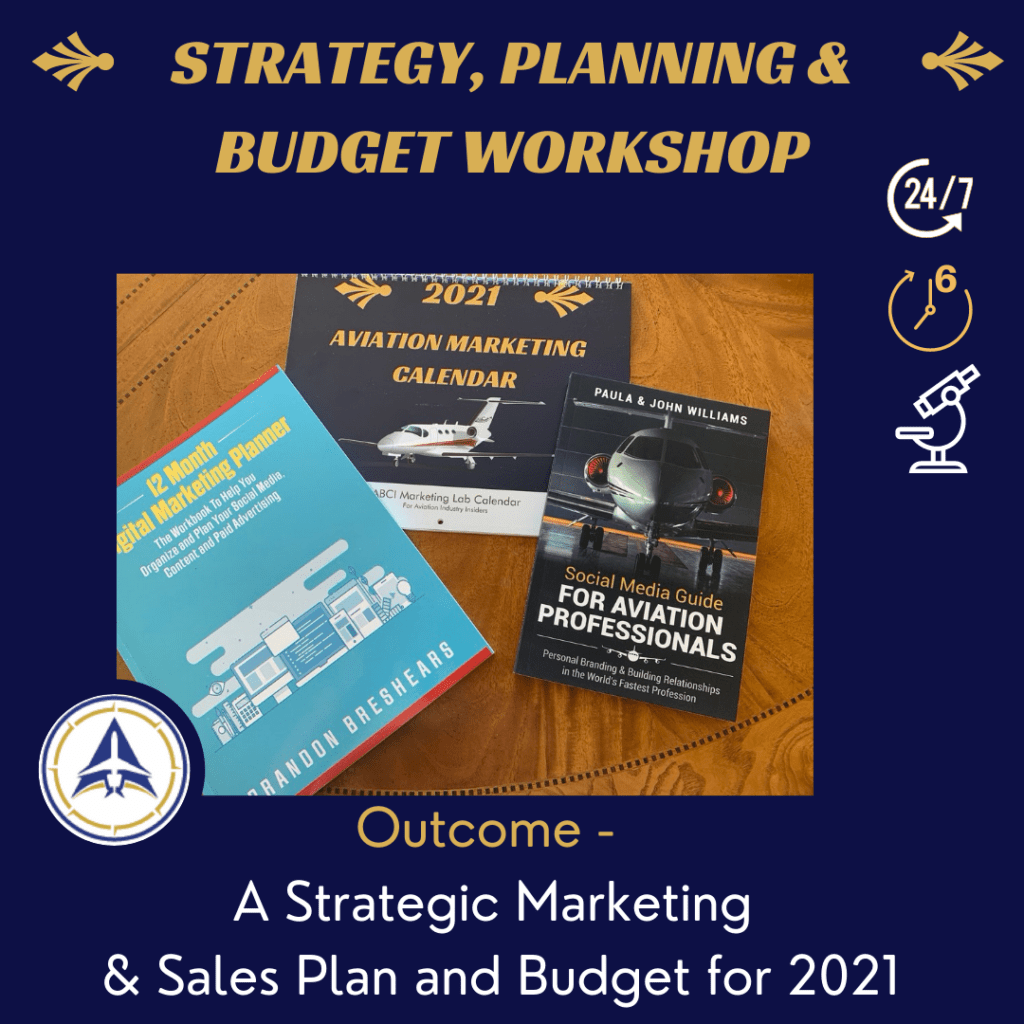 Aviation Marketing Strategy, Planning and Budget Workshop