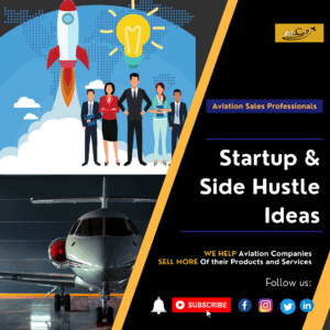 Aviation startup & side hustle ideas