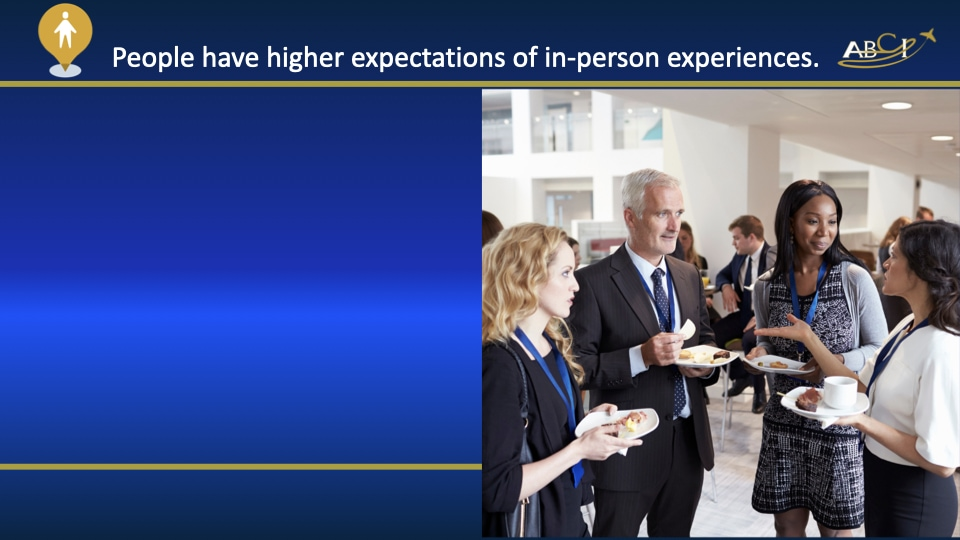 Aviation Trade Shows in 2021 - Higher expectations of in-person experiences
