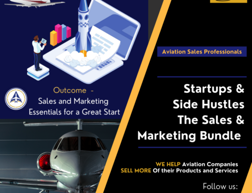 Introducing – the Sales and Marketing Bundle for Aviation Startups and Side Hustles