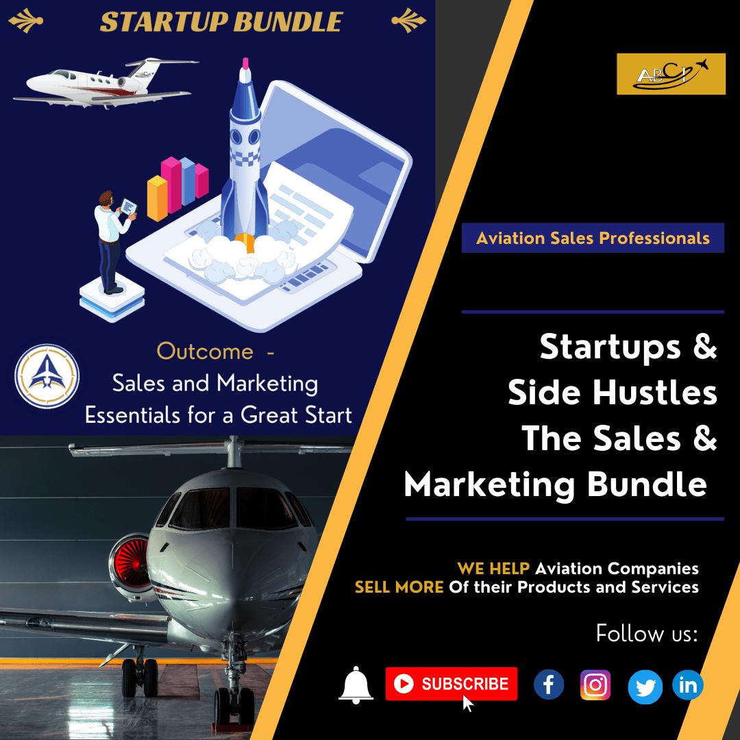Aviation Startups and Side Hustles- The Bundle