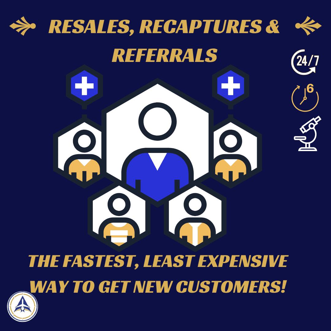 Resales, recaptures & referrals workshop