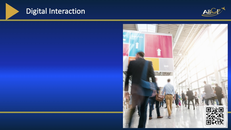 Digital Interaction - Aviation Trade Shows - How to do Hybrid Events