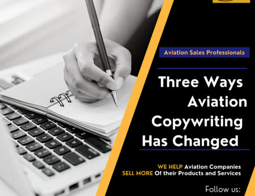 Three Things That Have Changed About Aviation Copywriting