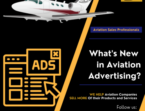 Aviation Advertising – Three Things that Have Changed
