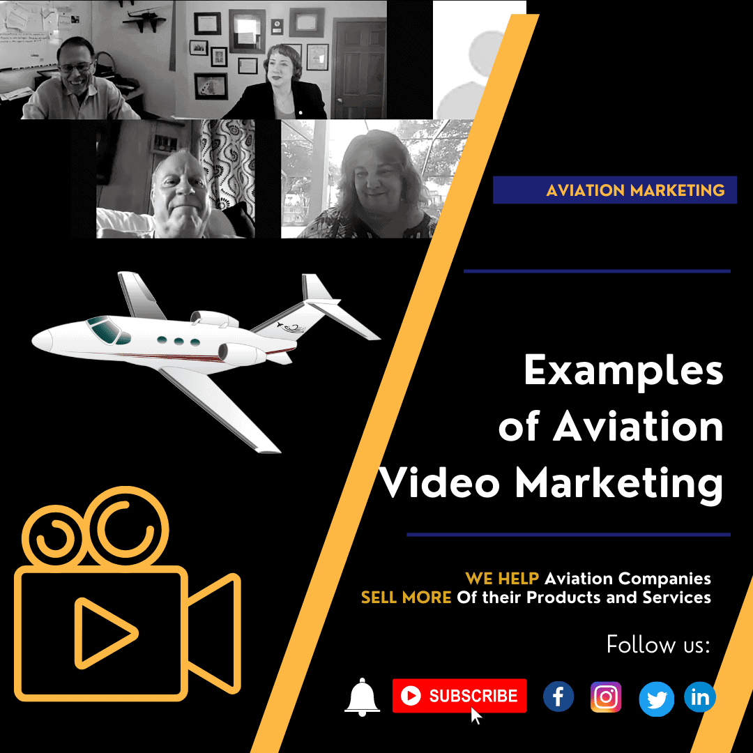 Examples of Aviation Video Promos