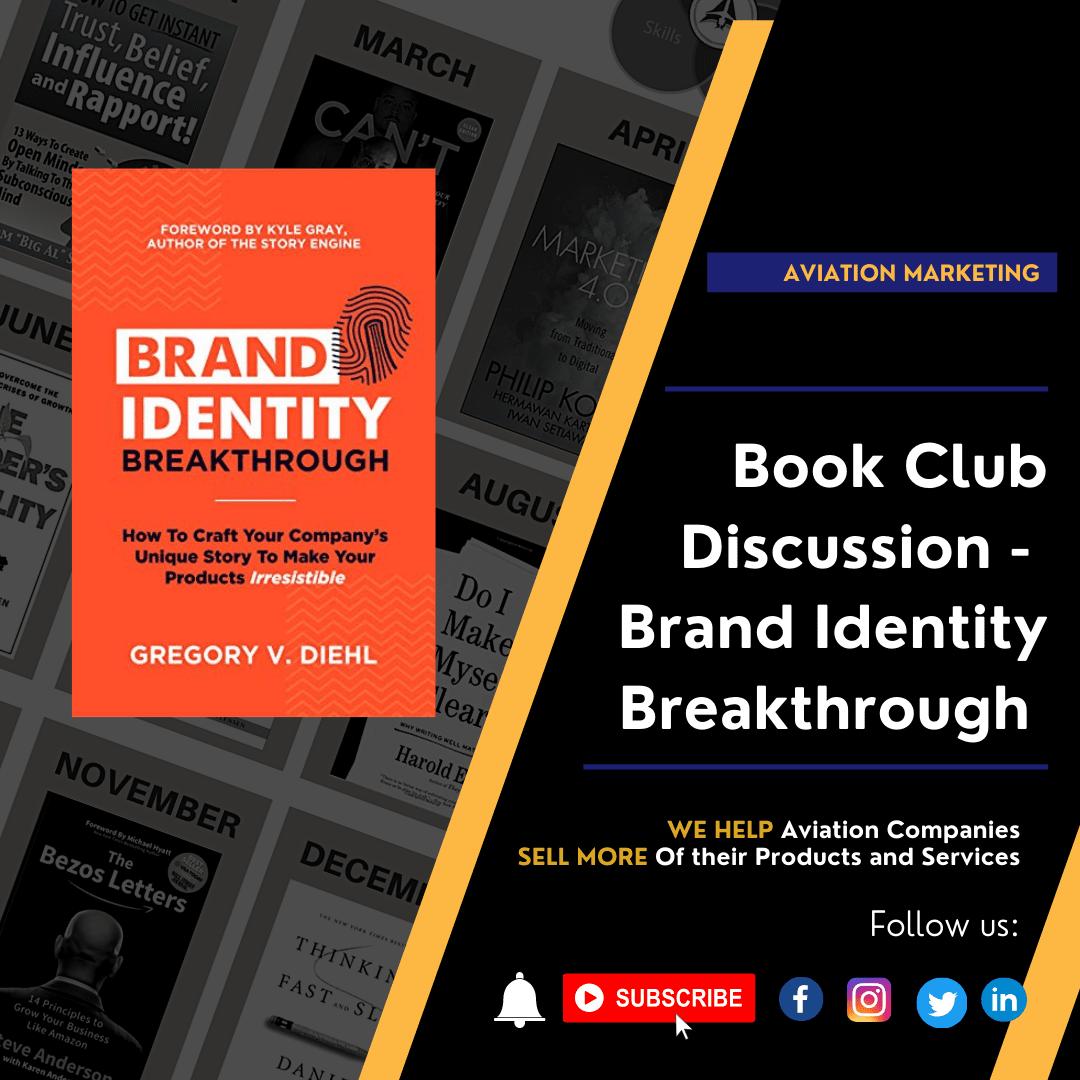 Book Club Discussion - Brand Identity Breakthrough